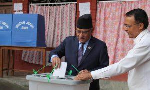 Prachanda-Voting