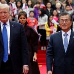 US-President-Donald-Trump-arrives-in-South-Korea