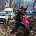 Digging-a-road-for-Melamchi-pipeline-16