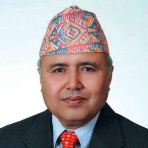 File photo of former finance secretary Rameshwor Khanal.